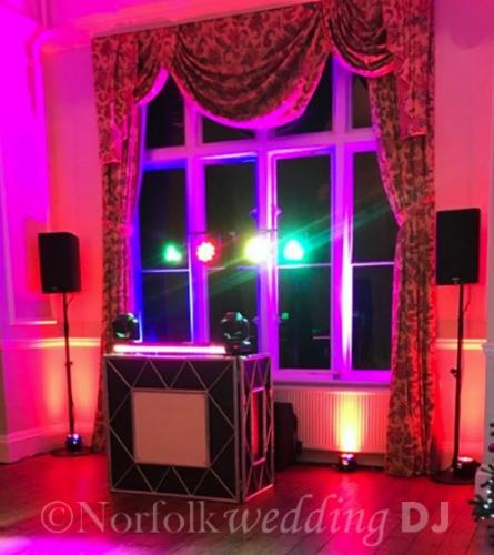 Jason and Kim's Wedding 30.12.17 at Lynford Hall Hotel, Norfolk - Norfolk Wedding DJ www.norfolkweddingdj.co.uk